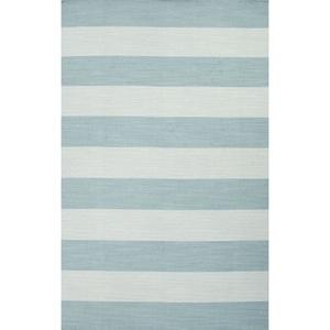 Tierra Handmade Stripe Blue Area Rug (2'  x  3')