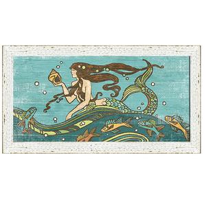 Rapunzel Mermaid Framed Art