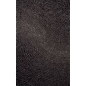 """Track Abstract Gray Area Rug (7'6""""  x  9'6"""")"""