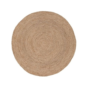 Halo Natural Solid Tan Round Area Rug (8'  x  8')