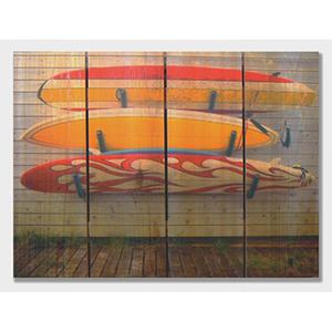 Board Walk Wood Art