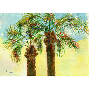 Palm Trees Door Mat