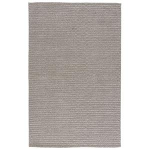 Daze Handmade Solid Gray Area Rug (8'  x  11')