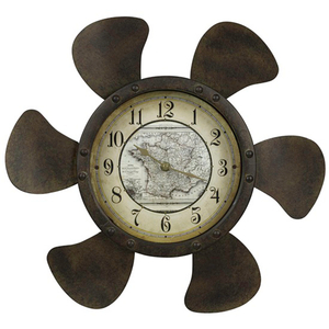 Landon Propeller  Clock