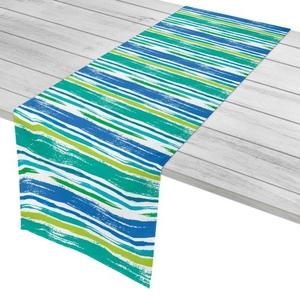 "Coastal Lines Table Runner - 16""X72"""