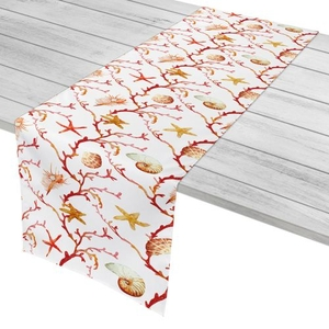 "Coral Lattice Table Runner - 16""X72"""