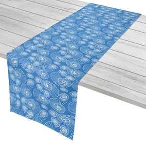 """Nautilus Outline Table Runner - 16""""X72"""""""