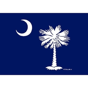 Palmetto Moon Door Mat 18X26
