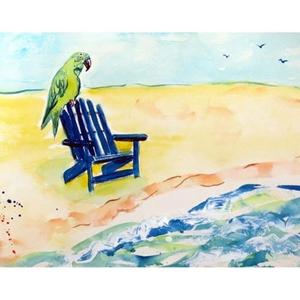 Parrot & Chair Door Mat 18X26