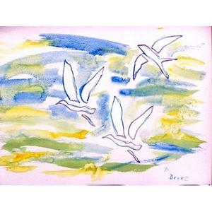 Three Gulls Door Mat 18X26