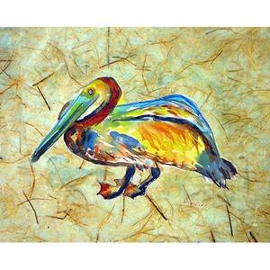 Gertrude Pelican A Door Mat 18X26