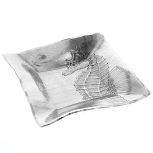 Seahorse Canape Plate