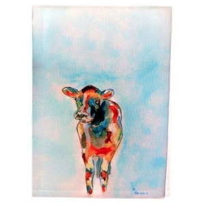 Betsy'S Cow Guest Towel