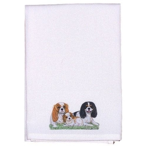 King Charles Spaniels Guest Towel