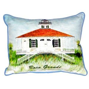 Boca Grande Lighthouse Large Indoor/Outdoor Pillow  16X20