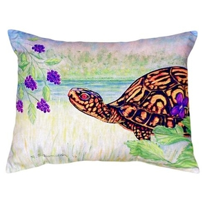 Turtle & Berries No Cord Pillow 16X20