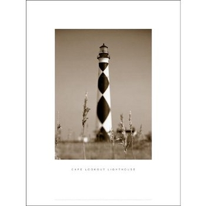 Cape Lookout Lighthouse Framed Art