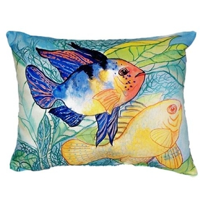 Betsy'S Two Fish No Cord Pillow 16X20