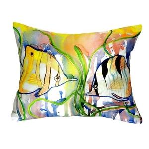 Angel Fish No Cord Pillow 16X20