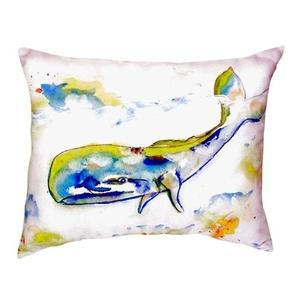 Whale No Cord Pillow 16X20