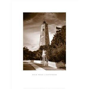 Bald-Head-Island-Lighthouse-Framed-Art