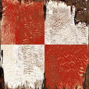 Danger Signal Flag Wood Art