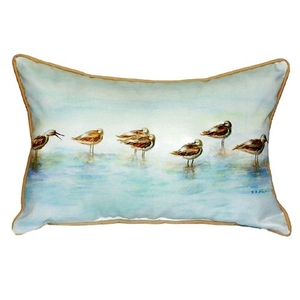 Avocets Small Indoor/Outdoor Pillow 11X14