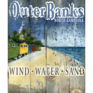 Outer Banks Wall Art Personalized