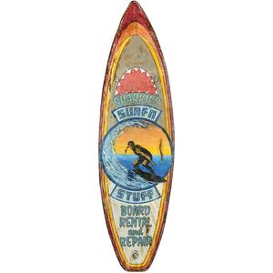 Surfboard Wall Art - Sharkies