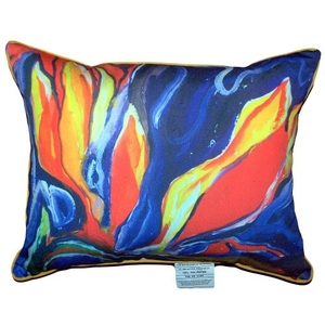 Purple Paradise Small Indoor/Outdoor Pillow 11X14