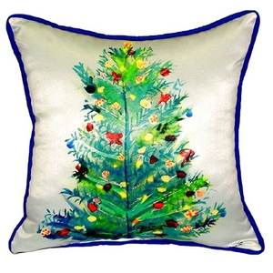 Christmas Tree Small Indoor/Outdoor Pillow 11X14
