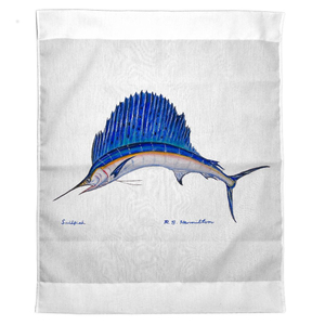 Sailfish Outdoor Wall Hanging 24X30