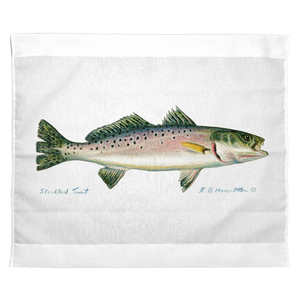 Speckled Trout Outdoor Wall Hanging 24X30