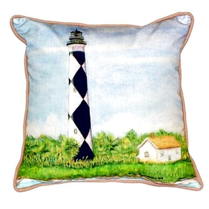 Cape Lookout Extra Large Zippered Pillow 22X22