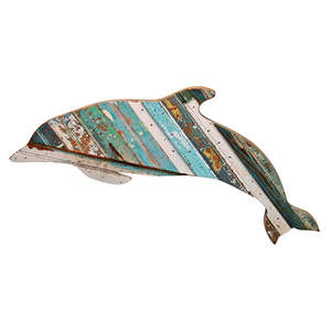 Flipper Wooden Dolphin Plaque