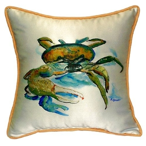 Fiddler Crab Extra Large Zippered Pillow 22X22