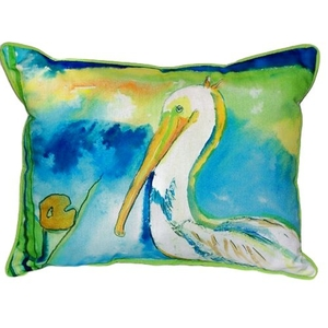 White Pelican Extra Large Zippered Pillow 20X24