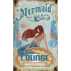 Mermaid Lounge Sign Personalized