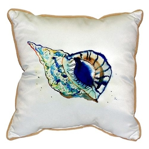 Betsy'S Shell Extra Large Zippered Pillow 22X22