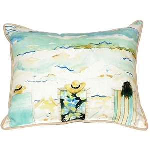 Bottoms Up Again Extra Large Zippered Pillow 20X24