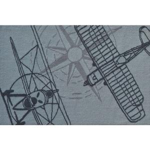 Outline Plane Grey Indoor / Outdoor Hook