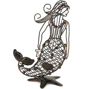 Mermaid Wine Cork Cage