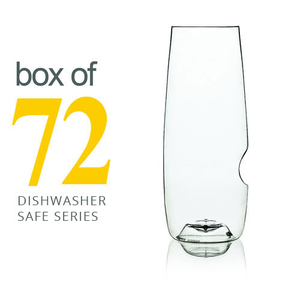 Govino Stemless Dishwasher Safe Champagne Flutes (Box Of 72)
