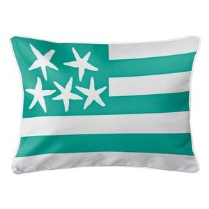 Beach Flag Lumbar Pillow - Windsong