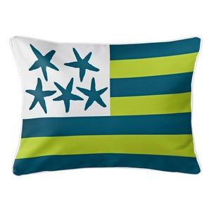 Beach Flag Lumbar Pillow - Riverwalk