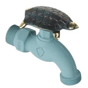 Turtle Faucet-Verdigris, Brass