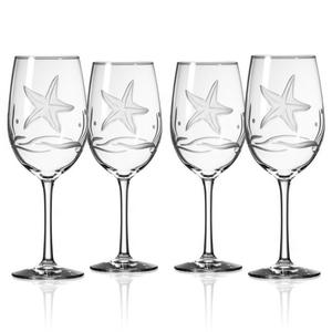 Starfish All Purpose Wine Glasses (set of 4)