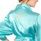 Personalized Solid Pink Satin Robe (S-M)