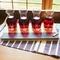 Personalized Bamboo & Slate Wine Tasting Flight