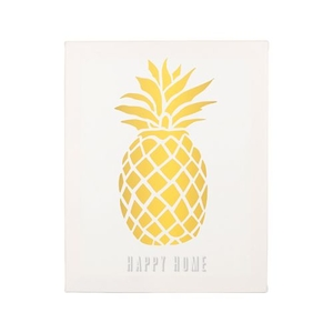 Personalized Pineapple Canvas